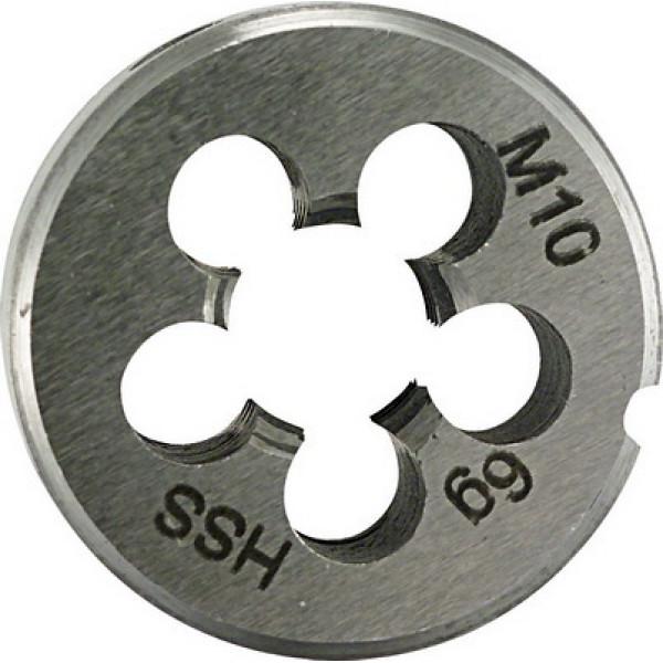 Плашка для нарезания резьбы 25x9 M 5 PLT - Инсел