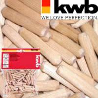 Шканты деревянные 8 мм/ 150 шт, KWB