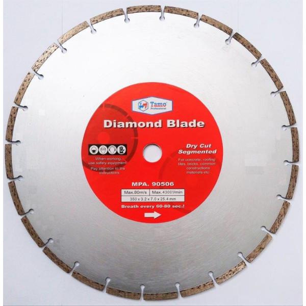 Диск алмазный сегментный 350х25.4-22.2мм, TAMOLINE - Инсел
