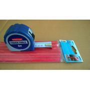 Рулетка 8м RUBBERMAID + упаковка карандашей столярных (12 шт.) - Инсел