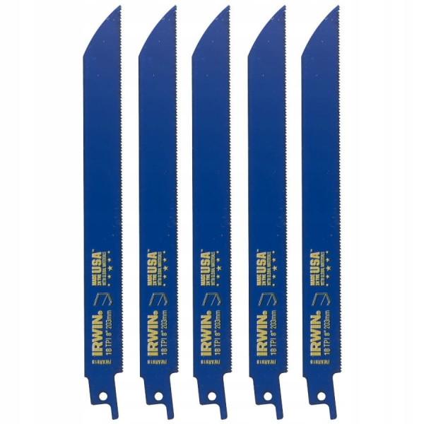 Полотно по металлу IWN SRB: 5шт 818R 200мм 1,4мм - Инсел