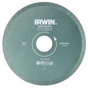 Диск алмазный сплошной 115x22,2 (с подачей воды), IRWIN - Инсел
