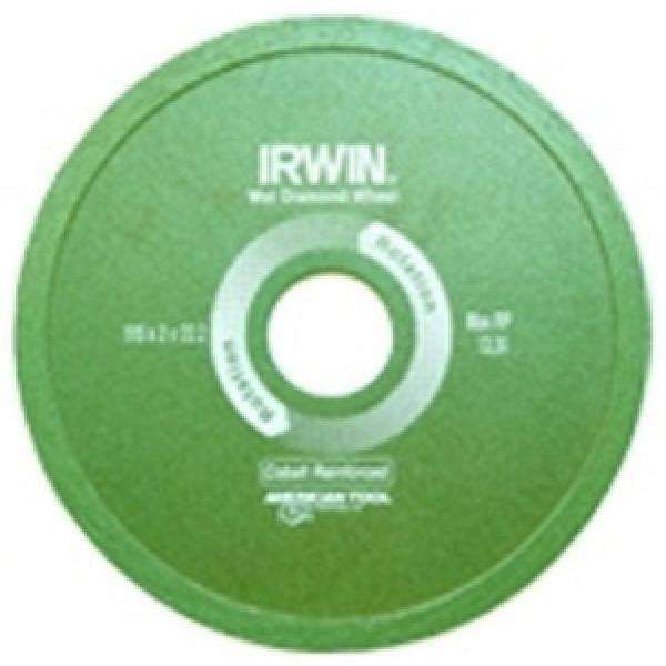 Диск алмазный сплошной 125x22,2 (с подачей воды), IRWIN - Инсел
