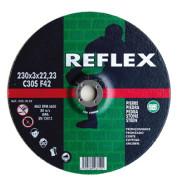 Диск отрезной по камню 115х3.0х22, REFLEX - Инсел