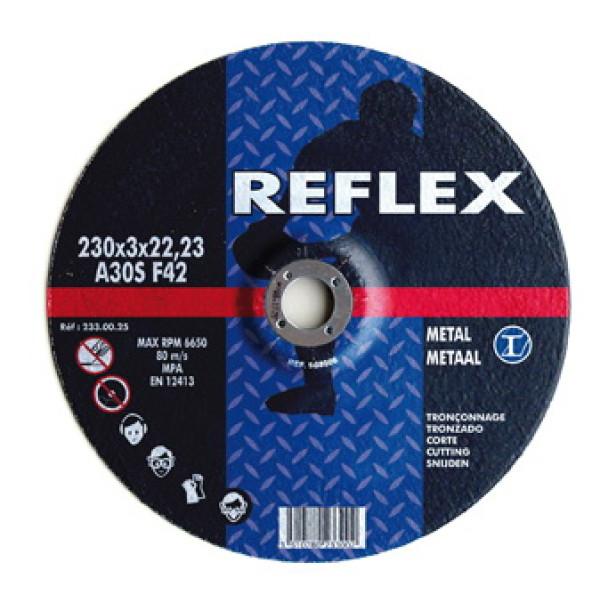 Диск отрезной по металлу 125х1.6х22, REFLEX - Инсел