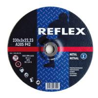 Диск отрезной по металлу 125х2.5х22, REFLEX/ORANGE - Инсел