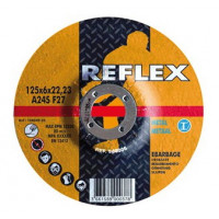 Диск обдирочный по металлу 125х6.0х22, REFLEX/ORANGE - Инсел
