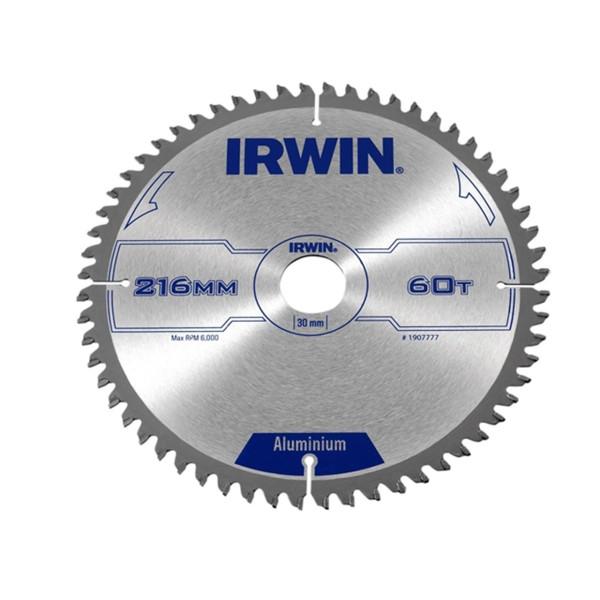 Диск пильный по алюминию 216х60х30, IRWIN - Инсел