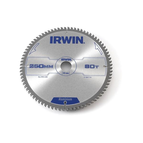 Диск пильный по алюминию 250х80х30, IRWIN — Инсел