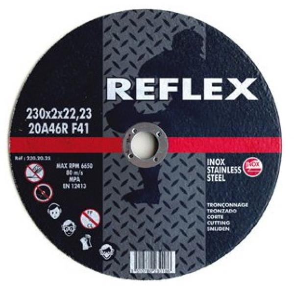Диск отрезной по металлу (нержавейка) 230х2.0х22, REFLEX/ORANGE - Инсел
