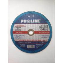 Диск отрезной по металлу 230х3.0х22 PROLINE
