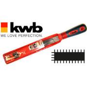 Напильник слесарный плоский, 200 мм, KWB - Инсел