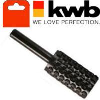 Бор-фреза для цветных металлов , цилиндрическая 15х30мм, KWB, 4949-00