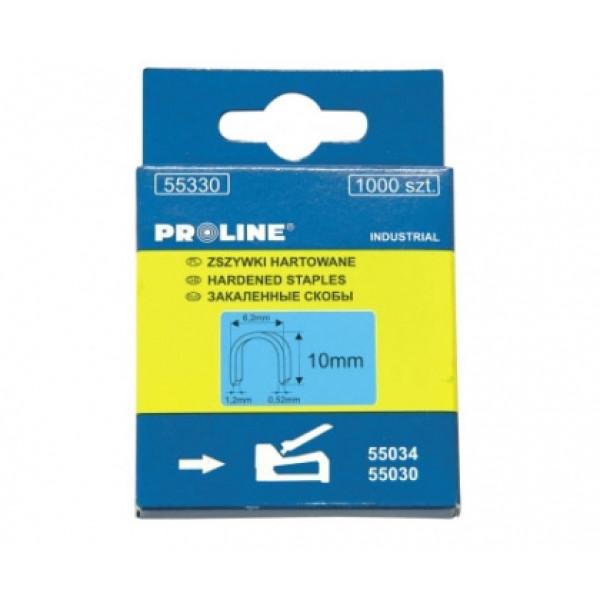 Скоба полукруглая 10*6,2*1,2*0,52мм ( 1000 шт) PROLINE - Инсел