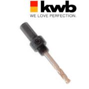 Адаптер с 6-гранным хвостовиком 11 мм для коронок 16 - 30 мм, KWB - Инсел