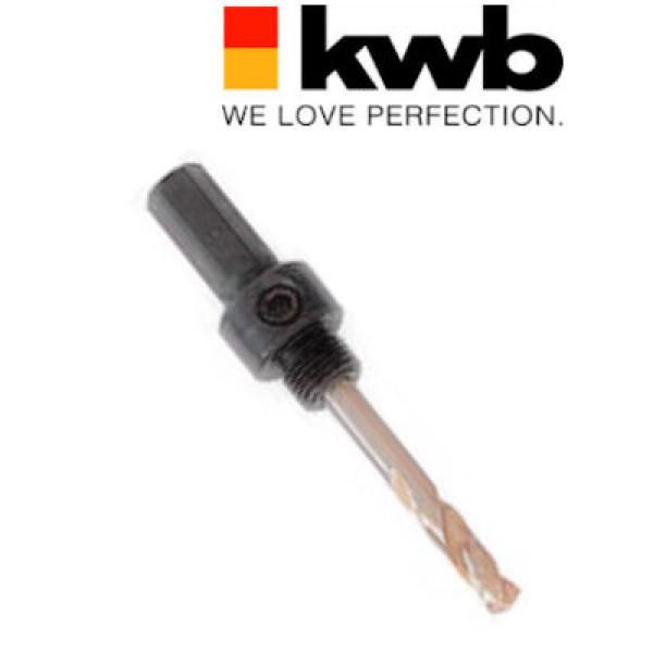 Адаптер с 6-гранным хвостовиком 11 мм для коронок 16 - 30 мм, KWB — Инсел