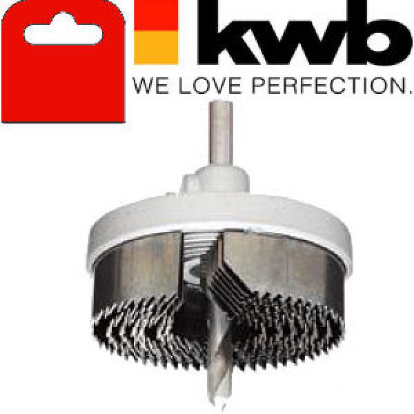 Коронка пильная по дереву, 7 частей,  KWB - Инсел