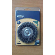 Щетка дисковая 100 мм, жесткая, Valuetools - Инсел