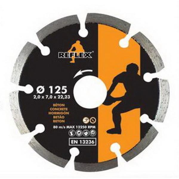 Диск алмазный Segment 230x7x2,5 мм, REFLEXXORANGE — Инсел
