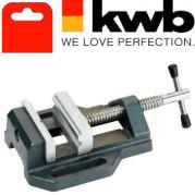 Тиски машинные точные, 80 мм,KWB - Инсел
