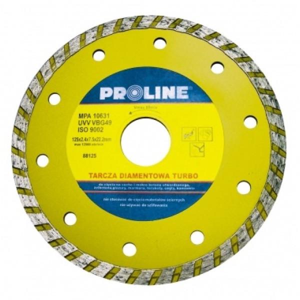 Диск алмазный 115x2,4x7,5x22,2 мм (Turbo) PROLINE — Инсел
