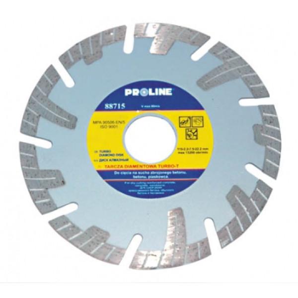Диск алмазный 180x2,6x7,5x22,2 мм (Turbo-T) PROLINE — Инсел