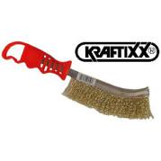 Щетка ручная, сталь, KRAFTIXX - Инсел