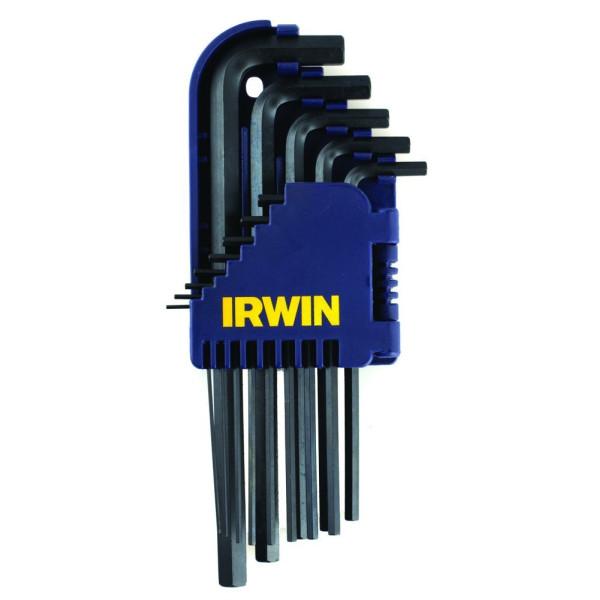 Набор ключей шестигранных  - коротких - 10 шт.   (1,5 - 10,0 mm) - Инсел