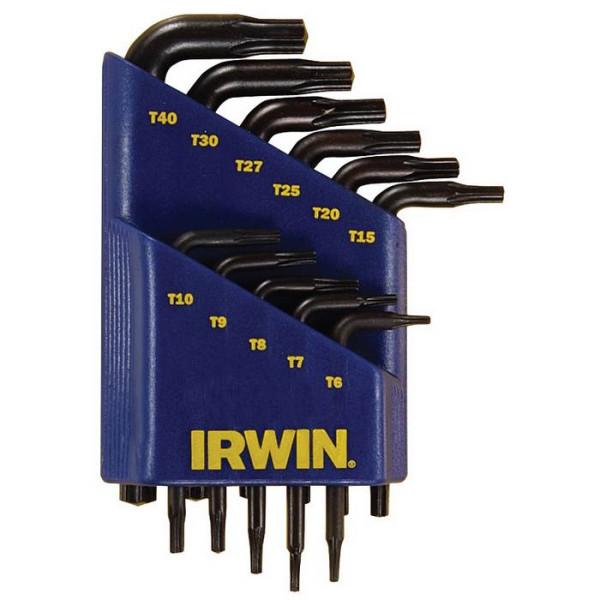 Набор ключей Torx 10 шт, IRWIN - Инсел